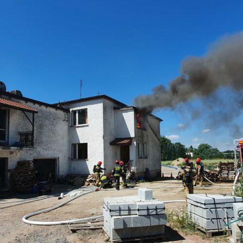 Ćwiczenia z gaszenia pożarów wewnętrznych
