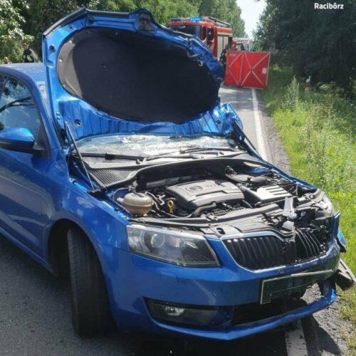 Tragiczny wypadek na DW 919