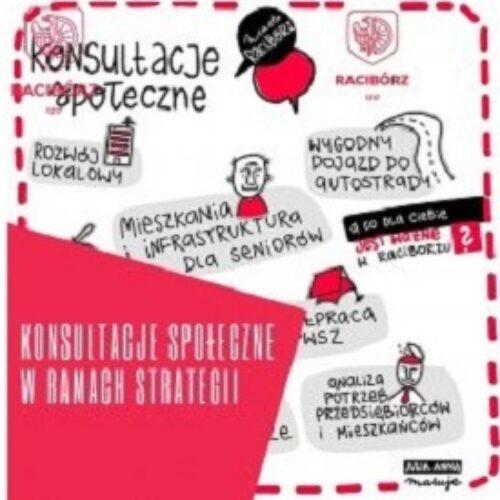 """Konsultacje społeczne projektu """"Strategii rozwoju miasta Racibórz do roku 2030"""""""